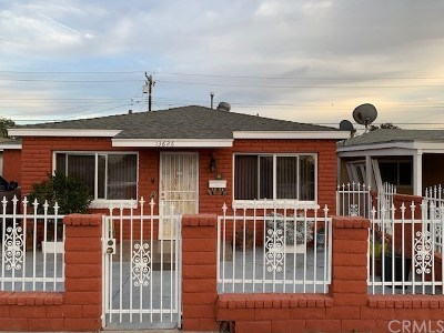 Downey Single Family Home For Sale: 13626 Earnshaw Avenue