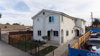 Los Angeles Multi Family Home For Sale: 1602 Firestone Boulevard