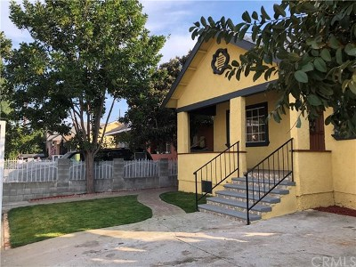 Los Angeles Multi Family Home For Sale: 340 W 41st Street