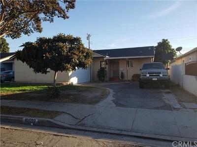 Norwalk Single Family Home For Sale: 10532 Lyndora Street