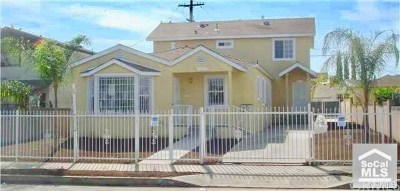 Los Angeles Multi Family Home For Sale: 918 E Imperial Highway E