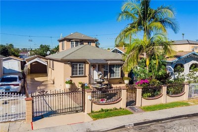 Hawaiian Gardens Single Family Home For Sale: 22127 Juan Avenue