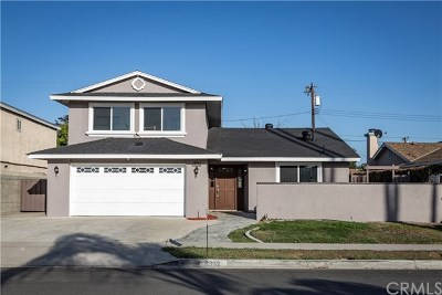 Cypress Single Family Home For Sale: 8392 Carob Street