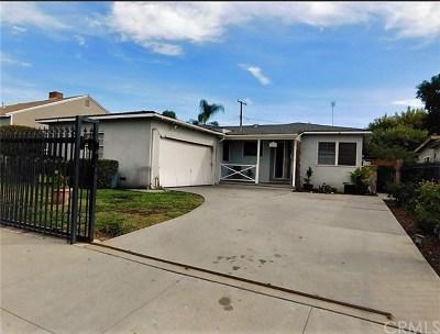 Whittier Single Family Home For Sale: 9662 Ben Hur Avenue