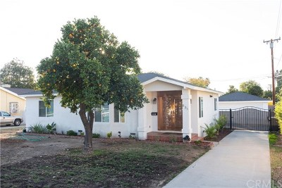 West Covina Single Family Home For Sale: 931 S Holly Place