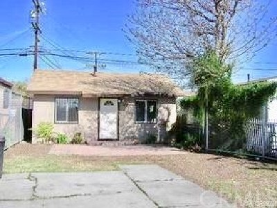 Los Angeles CA Single Family Home For Sale: $330,000