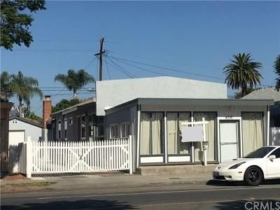 Long Beach Single Family Home For Sale: 6525 Orange Avenue