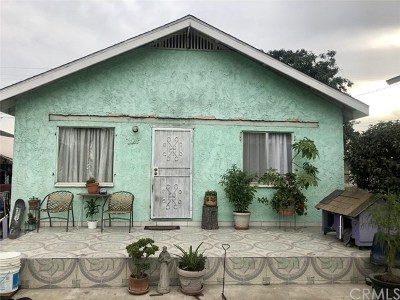 Compton Single Family Home For Sale: 328 W Claude Street