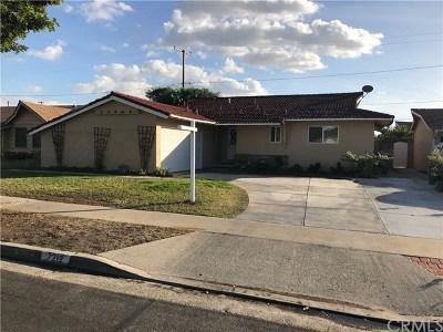 Buena Park Single Family Home For Sale: 7212 Santa Cruz Circle