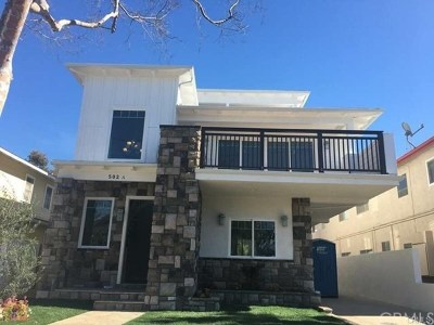 Los Angeles County Rental For Rent: 502 Francisca Avenue #A