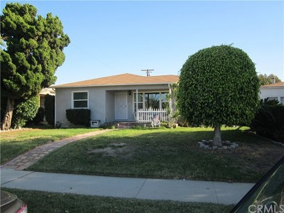 Downey Single Family Home For Sale: 12736 Downey Avenue
