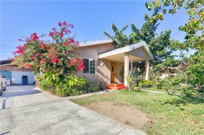 Whittier CA Single Family Home For Sale: $530,000