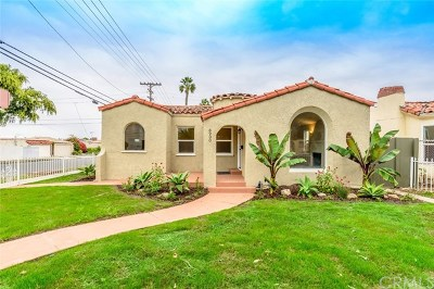 Los Angeles Single Family Home For Sale: 8900 S Hobart Boulevard