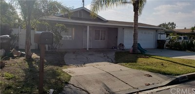 Hacienda Heights Single Family Home Active Under Contract: 15822 Marwood Street