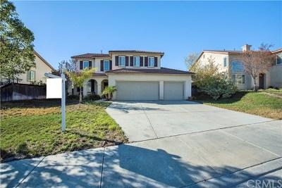Murrieta Single Family Home For Sale: 27503 Mangrove Street