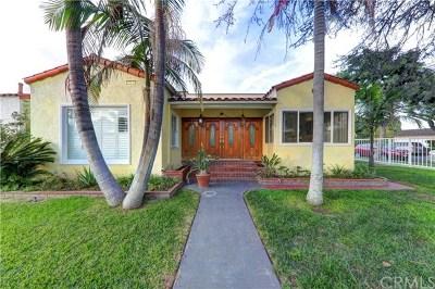 Bellflower Single Family Home For Sale: 10255 Beach Street