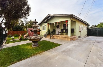 Los Angeles Multi Family Home For Sale: 7659 Miramonte Boulevard