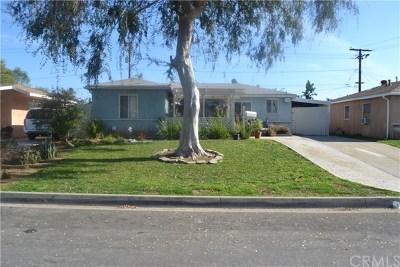 Whittier Single Family Home For Sale: 11822 Telechron Avenue