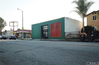 Los Angeles Commercial For Sale: 6215 S San Pedro Street