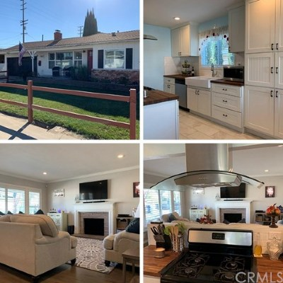 Downey Single Family Home For Sale: 12527 Downey Avenue