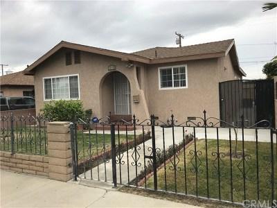 Artesia Single Family Home For Sale: 18019 Devlin Avenue