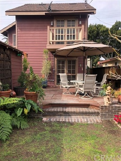 Long Beach Single Family Home For Sale: 820 Loma Avenue