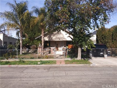Pomona Single Family Home Active Under Contract: 253 E 7th Street