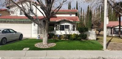 Lancaster, Palmdale, Quartz Hill Single Family Home For Sale: 1339 Pasteur Drive