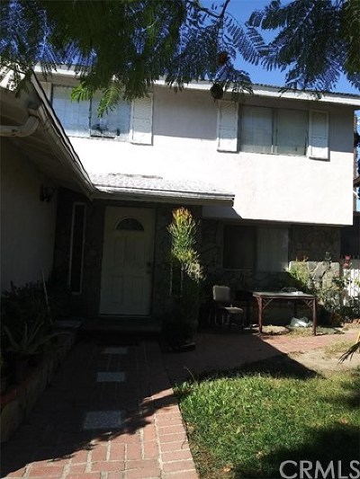 Sylmar CA Single Family Home For Sale: $475,000