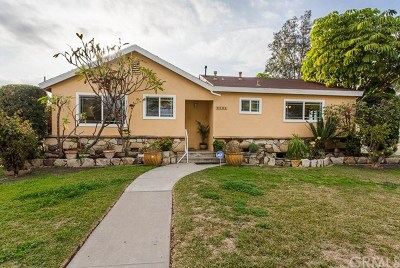 Downey Single Family Home For Sale: 8002 Blandwood Road