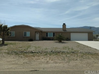 Lucerne Valley Single Family Home For Sale: 32159 Sapphire Road