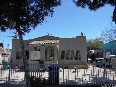 Bell Multi Family Home For Sale: 6212 Orchard Avenue