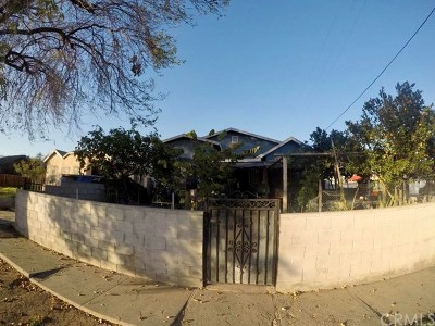 Los Angeles Single Family Home For Sale: 515 W 101st Street