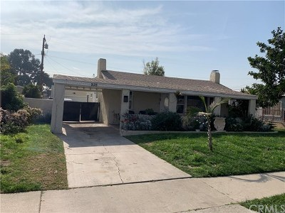 Compton Single Family Home For Sale: 938 W 133rd Street