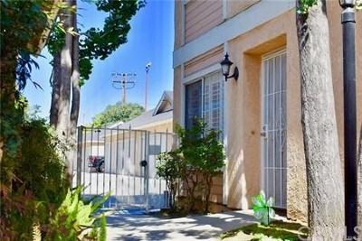 Norwalk Condo/Townhouse For Sale: 12235 Pine Street #12