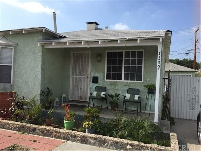Compton Single Family Home For Sale: 1329 Sloan