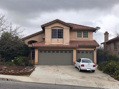 Lake Elsinore Single Family Home Active Under Contract: 26 Bella Lucia