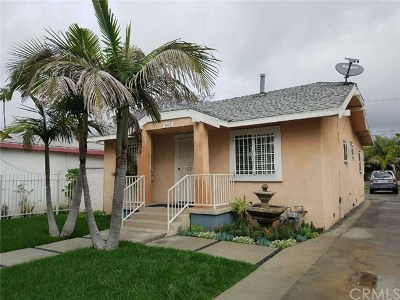Los Angeles Single Family Home For Sale: 443 W 83rd Street