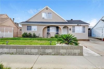 La Mirada Single Family Home For Sale: 12903 El Moro Avenue