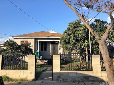 Lynwood Multi Family Home Pending: 3113 Cedar Avenue