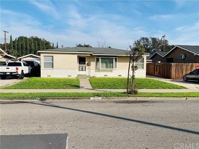 Santa Ana Single Family Home For Sale: 1233 S S Shelton Street