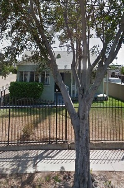 Inglewood Single Family Home For Sale: 3208 W 112th Street