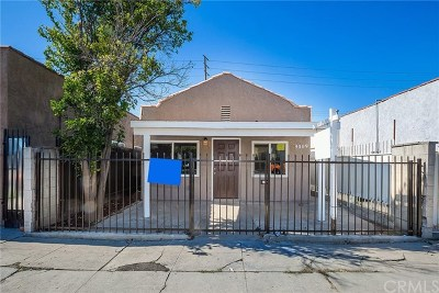 Los Angeles Single Family Home For Sale: 9009 S San Pedro Street