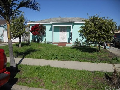 Compton Multi Family Home Active Under Contract: 1211 W 129th Street