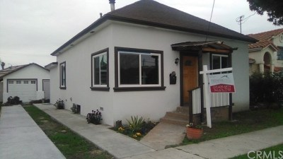 Lynwood Single Family Home For Sale: 3112 Cedar Avenue