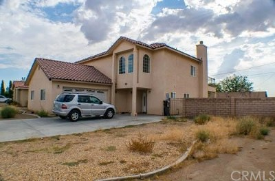 California City Single Family Home For Sale: 20121 Airway Boulevard