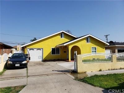 Pico Rivera Single Family Home For Sale: 8402 Buhman Avenue