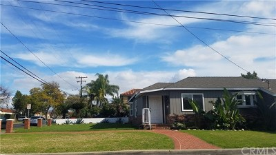 Downey Single Family Home For Sale: 8338 Cherokee Drive