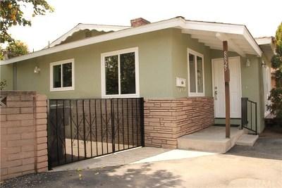 San Gabriel Single Family Home For Sale: 8825 Greenwood Avenue