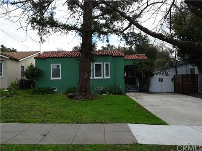 Pasadena Single Family Home For Sale: 2070 Glen Avenue